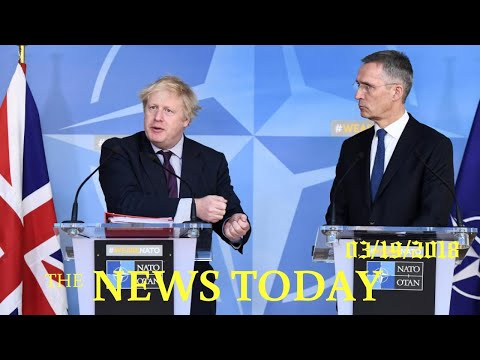Britain Wins Fresh EU, NATO Support Over Nerve Attack | News Today | 03/19/2018 | Donald Trump