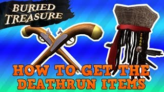 how to get the pistola pack and captain jacks hat buried treasure roblox event