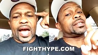 """I CAN KNOCK MIKE OUT"" - ROY JONES JR. SOUNDS OFF ON MIKE TYSON; BREAKS DOWN WHY P4P SKILL"