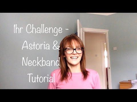 1hr Challenge - Seamwork Astoria & Jersey Neckband Tutorial - Vlog #23