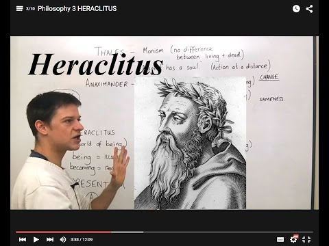 Philosophy 3 HERACLITUS