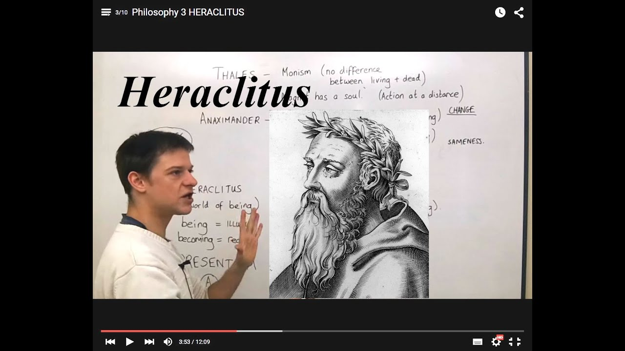 "parmenides and heraclitus Parmenides is commonly thought to have made a clear allusion to heraclitus, describing mortals with no understanding as simultaneously accepting that ""things both are and are not, are the same and not the same"" (c5/dk6."