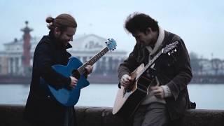 Andrey Dobrovolskiy feat. Evgeniy Lamba.  Mannerheim' Street' Blues. Slide Guitar.
