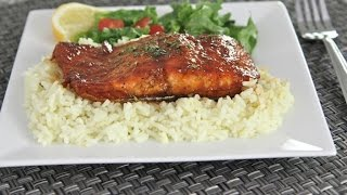 The BEST Baked Salmon Recipe (Honey Teriyaki)