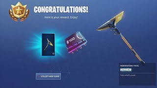 *UNLOCKING* FREE Fortnite 'REVOKER' Tool After Collecting Todays NEW FORTBYTE At The Pizza Pit!!