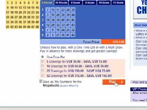 How To Check Your Lottery Ticket Online