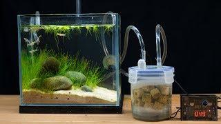 Make filter for mini fish tank