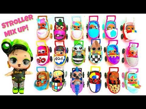 Custom LOL Surprise Doll Stroller Mixup at Carrie Hands Baby Preschool