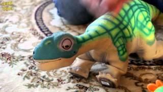 Динозавр PLEO   робот ( 1- й день)(, 2016-01-03T14:23:19.000Z)
