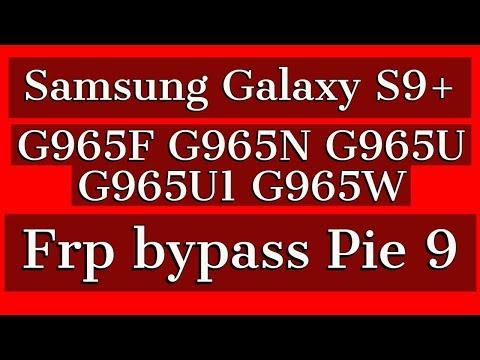Samsung S9+ Frp 9 Bypass | G965f Google Lock Frp Remove 9 0