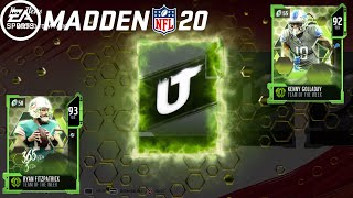 NEW LTD TIME RYAN FITZPATRICK!! Madden NFL 20 Pack Opening