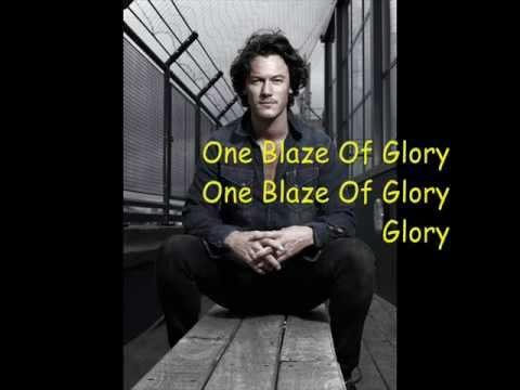 Luke Evans-One song glory