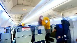 Safety Demontration Sriwijaya Air Boeing 737-900 Rute Jayapura - Jakarta
