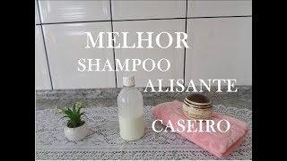 Shampoo Alisante Caseiro Sem Química