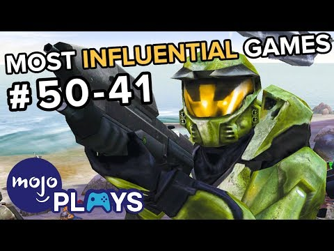 50 Most Influential Video Games - #50-41