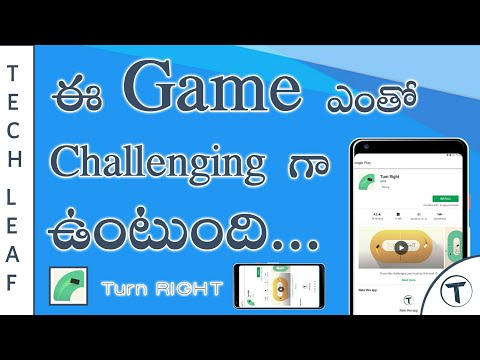 Best Time pass Games For Android | Turn RIGHT | Best Android Games | Best Challenging Games | Telugu