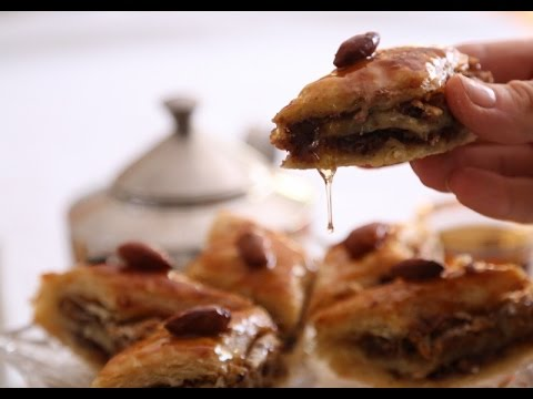 Easy Quick Baklava Recipe with Puff Pastry - Heghineh Cooking Show