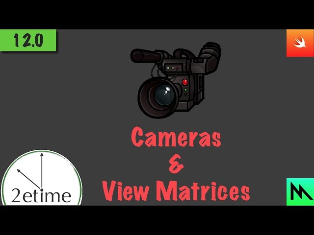 12: Cameras and The View Matrix | Swift Game Engine