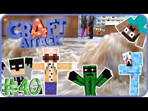 Wasserrohrbruch bei Kunga! - CraftAttack 4 #40 mit Petrit, Manultzen, GTime & Kunga