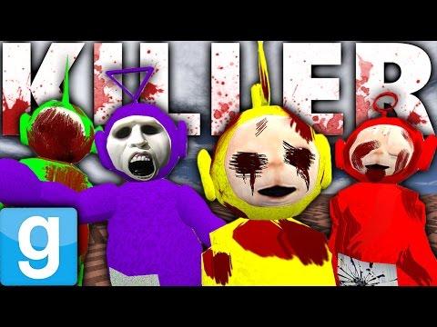 KILLER TELETUBBIES?!   Garry's Mod Murder Maze Challenge