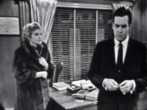 Raymond Burr - Screen Test as 'Perry Mason' (1956)