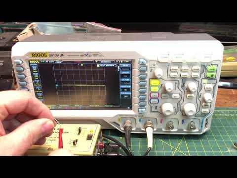 Transistor Tester with Digital RIGOL Oscilloscope DS1054z 4K