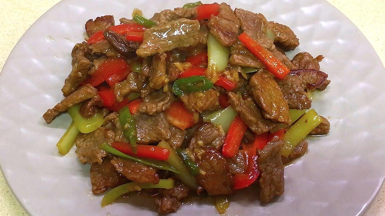 рецепт мясо по-тайски с огурцами рецепт с фото