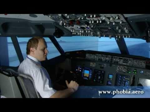Фрагмент DVD 2 - Отказ обоих двигателей Boeing 737 и успешная посадка