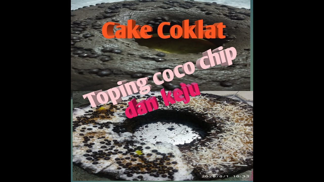 RESEP KUE CAKE COKLAT ANTI GAGAL - YouTube