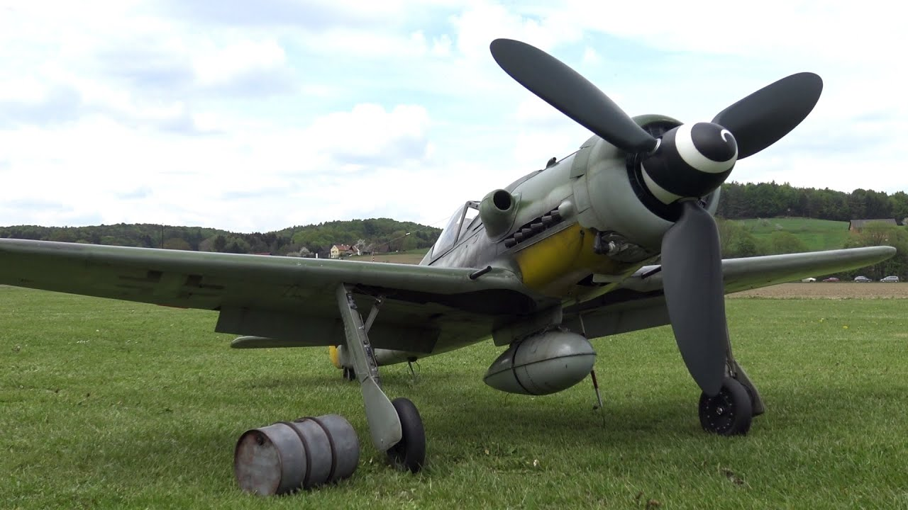��i-9�d_FW190D-9-1/5scale-YouTube