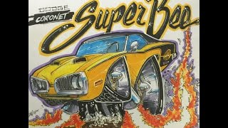 How to draw a Super Bee - Timelapse