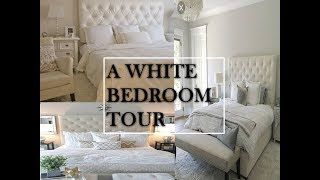 BEDROOM TOUR | WHITE DECOR | SIMPLE STYLING DIY 2018 | BUDGET CAUTIOUS