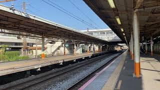 185系 特急踊り子5号、大船駅通過