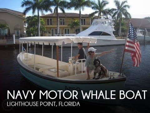Used 1966 Navy Motor Whale boat 26 for sale in Lighthouse Point, Florida