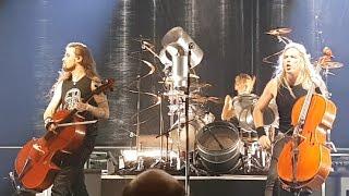 Apocalyptica - Battery (Live) Belgrade 4.4.2017.