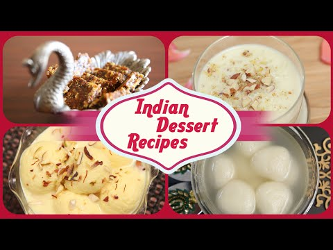 Indian Dessert Recipes   Indian Sweets   Easy To Make Homemade Sweet Dish Recipes   Rajshri Food
