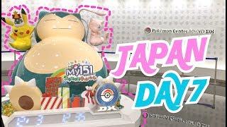 POKEMON CENTER TOKYO DX TOUR POKEMON CAFE MERCH HAUL Japan Vlog Day 7