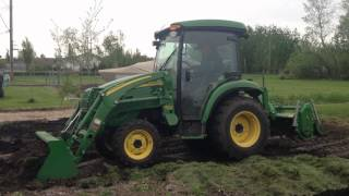 3720 John Deere Utility Tractor in Action