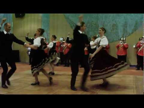 Hungarian firefighters orchestra with professional dancers 2 - Budapest 13.09.12