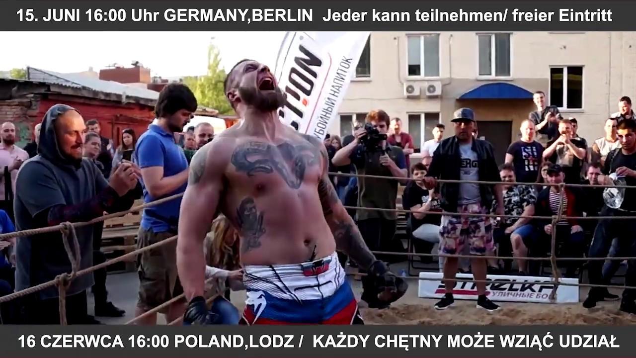 15. JUNI GERMANY, BERLIN / 16 CZERWCA POLAND, LODZ