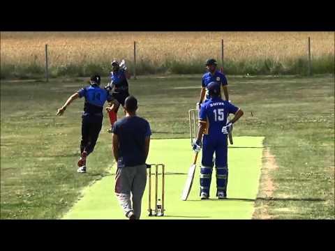 Rahel Khan out Mystry SCF T20 Semifinal 2014
