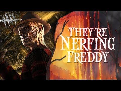 They're Nerfing Freddy - Dead By Daylight - Killer #199 Freddy Krueger