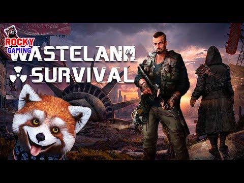 КОВБОЙСКИЕ РАЗБОРКИ С ЗОМБИ! Рокки играет в Wasteland Survival! Часть 2.