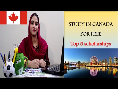 How To Study In Canada For Free/Top 5 Scholarships Of Canada For Undergraduate, Masters And PhD