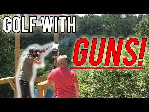 Sporting Clays Is Like Golf With Guns!