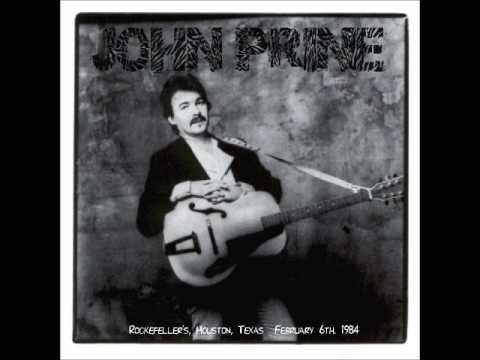 JOHN PRINE   Rockefeller's, Houston, TX February 6, 1984 Early & Late Shows