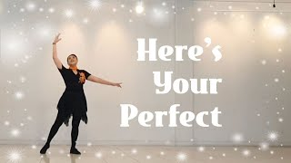 Here's Your Perfect - Line Dance, Music by Jamie Miller