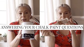 Answering Your Chalk Paint Questions | Annie Sloan Chalk Paint Tips + How To's