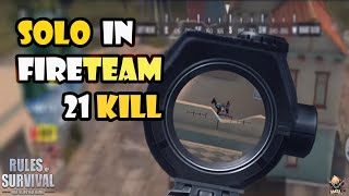 ROS : Solo in fireteam 21 kill | Highlight game play !!