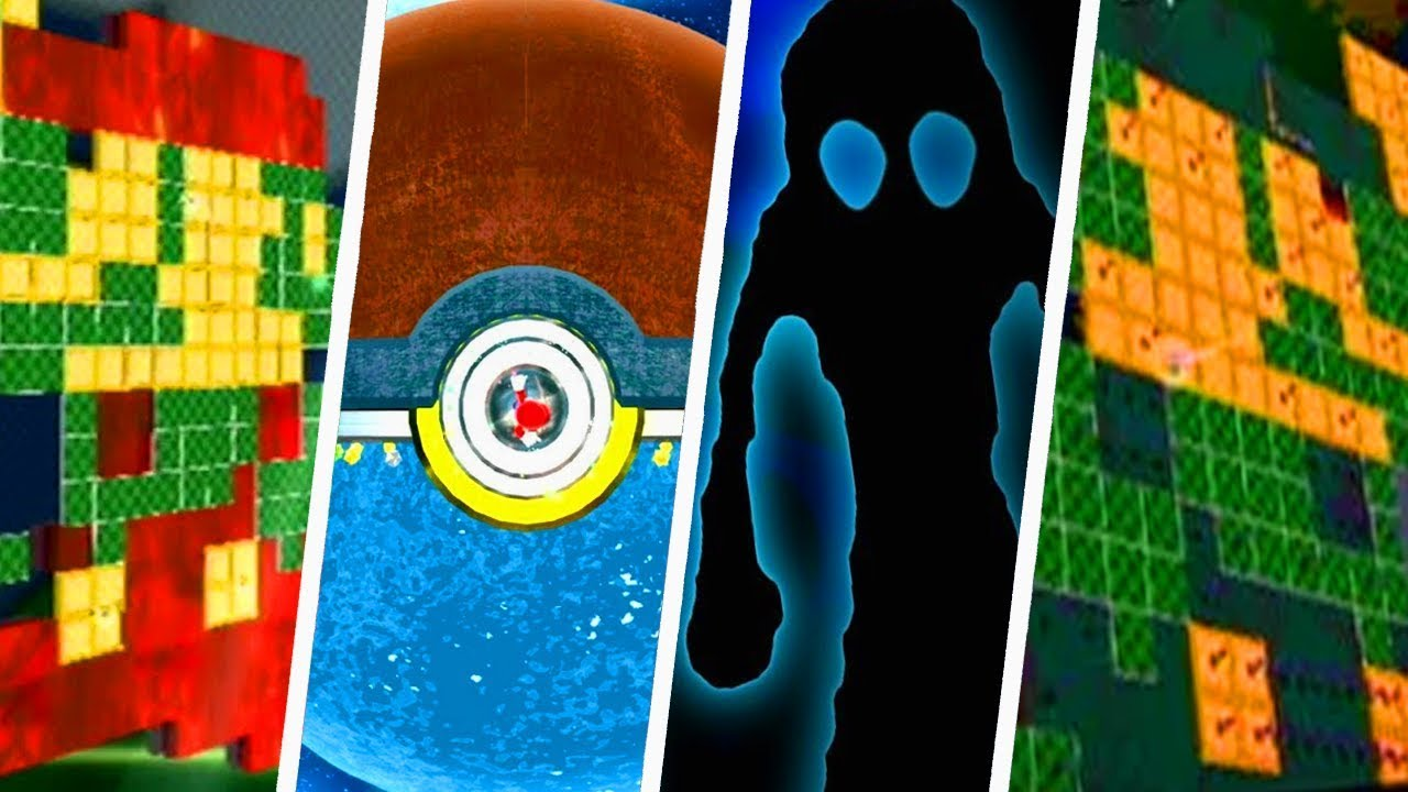 Evolution Of Super Mario Galaxy Easter Eggs 2007 2010